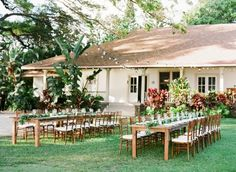 Olowalu Plantation House - Private Location - West Side Maui Wedding - Planned & Designed by Belle Destination Weddings & Events
