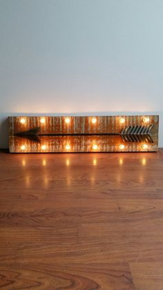 Marquee Light Up Metal Arrow Wood Wall Decor Marquee Market Marquee Sign, Marquee Lights, Inside Home, Wood Wall Decor, Light Up, Arrow, Window, Flooring, Signs
