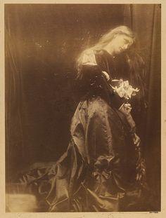 Gretchen at the Altar - Julia Margaret Cameron - c. 1870 - 1874