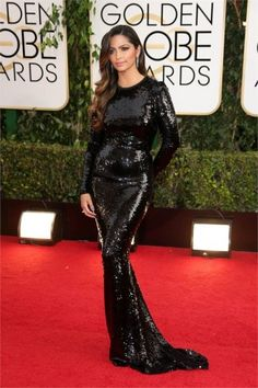 Golden Globe Dresses 2014 Camila Alves | Camila Alves in Dolce e Gabbana