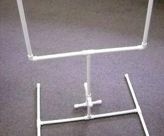 Miniature Football Goal Post from PVC