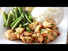 How to Make Summer Herbed Shrimp! - #CookWithApril .... And Justin