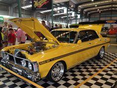 Ford XY Falcon from Australia Australian Muscle Cars, Aussie Muscle Cars, American Muscle Cars, Ford Falcon, Mustang Fastback, 1967 Mustang, Ford Girl, Old School Cars, Performance Cars
