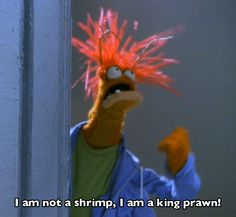 Pepe the King Prawn is my spirit animal.