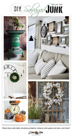 diy salvaged junk projects 346