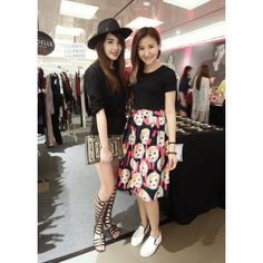 Thanks pretty Blogger @jiayeen come for visit @vodelle! She really pretty and Fair!