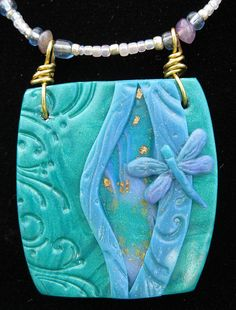 Dragon Fly Necklace by Gia LaMonte