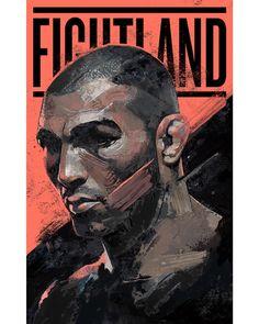 Conheça Gian Galang, o artista que transforma astros do UFC em incríveis ilustrações (Foto: José Aldo/UFC)