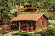 Estes Park Stone Haven Cabin Explore Pinterest