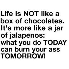 What about chocolate jalapenos?