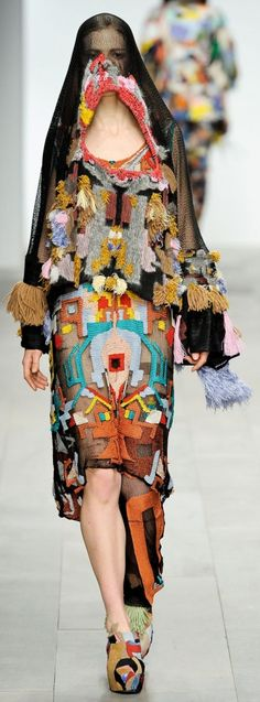 Leutton Postle - embroidery, patchwork, tassels