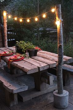 Our Garden: Plans, Progress and Inspiration | Find more at EverSoBritty.com | Picnic Table Inspo