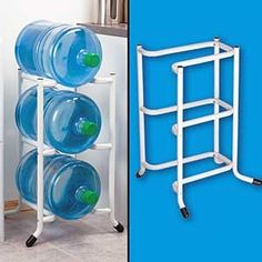 Charmant Water Bottle Storage Idea... Doesnu0027t Look Too Bad For $14.99 @