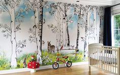 Behang Kinderkamer Vogeltjes : Beste afbeeldingen van behang foto s van klanten stories on