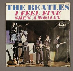 'I Feel Fine' - The Beatles: 5 weeks. From 10 Dec 1964. (Xmas No1).