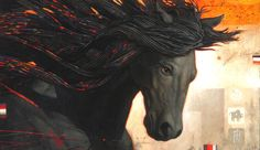 art: craig Kodak ***Celtic tradition holds the horse goddess as having power over life – the cycle of birth – death – afterlife – and rebirth. Therefore having horse medicine provides the means to mentally prepare us with all these stages. Doing so helps us discover true spiritual power – that we are immortal souls using the body as a vehicle temporarily. In the Celtic tradition Horse is also associated with the power of the land itself.*** (via shamanjourney)