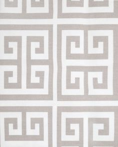 greek key in buff 11.95/yd
