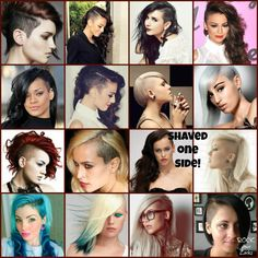 The one side shave