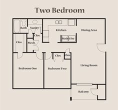 Small 2 Bedroom Apartment Plans Apartment Floor Plans 2 Bedroom Apartment