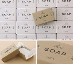活版印刷を施した商品箱 Soap Packaging, Cosmetic Packaging, Packaging Design, Branding, Little Boxes, Letterpress, Illustrations, Creations, Logo Design