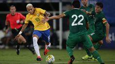 (Video) Neymar lideró goleada de Brasil 5-0 ante Bolivia