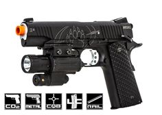 Blackwater Full Metal 1911A1 CO2 Blowback Pistol Airsoft Gun  http://www.airsoftgi.com/product_info.php?products_id=16269