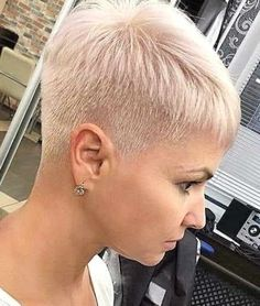 Short Sassy Hair, Super Short Hair, How To Curl Short Hair, Short Thin Hair, Short Hair Updo, Short Hair With Layers, Short Hair Cuts, Short Pixie Haircuts, Short Hairstyles For Women