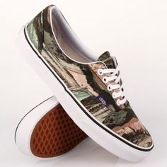 ddef7acefa Vans-Era-Liberty-Mountains-Army-Mens-Skate-Shoes-Size-10