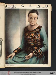 Jugend, German illustrated weekly magazine for art and life, Volume 34, 1929.