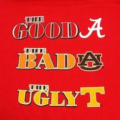 "Alabama Crimson Tide ""The Good, Bad, Ugly"" T-Shirt"