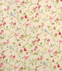 Beautiful floral bird design on this oil cloth  http://www.justfabrics.co.uk/curtain-fabric-upholstery/chintz-pvc-bird-trail-fabric/