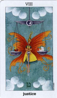 Sun and Moon Tarot. Justice.