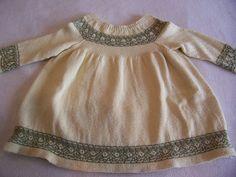 Ravelry: Marielle6's Vintage Baby Dress in Crystal Palace Yarns Panda Silk