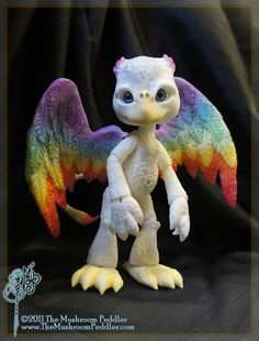 Griff the Griffon - ball joint doll BJD - Custom Color