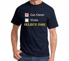 56c0d3539e0 Nobody Needs An T shirt men Funny gun army short sleeve casual tee US plus  size