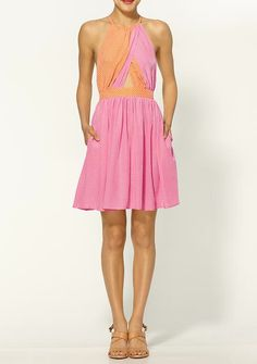 just got this dress for rush! juicy is growing on me...