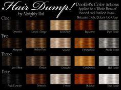 Hat Plays Sims - Pooklet recolor Hair dump