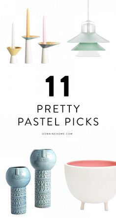11 of the prettiest pastel finds