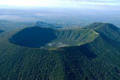crater de volcán de San Salvador, El Boquerón