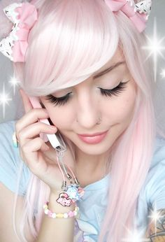 Alexa's Style Blog: Tasty Peach Studios: Kawaii Charms, Buttons, and Lanyard Product Review | куклы | Pinterest