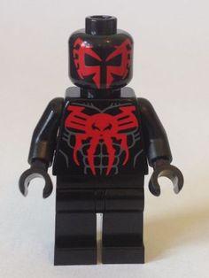 Spiderman Edge Of Time Christo Custom Minifigure