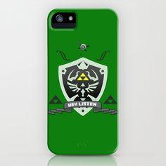 Hylian Zelda iPhone & iPod Case by JordanRAWR - $35.00
