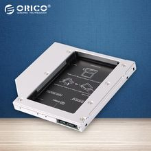 US $14.25 ORICO L127SS CD-ROM Space SATA to SATA 2 Hard Disk Drive 2.5 Internal HDD Caddy Enclosure for Laptops-Silver. Aliexpress product
