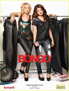 BONGO INFANT CLOTHES PICS  | Ashley Benson & Lucy Hale: Bongo Campaign Photos!