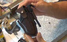 How to Make a Custom Leather Knife Sheath