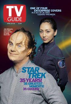 Cover 30 of Star Trek Anniversary Star Trek Tv Series, Star Trek Original Series, New Star Trek, Star Wars, Enterprise Nx 01, Star Trek Enterprise, Akira, Linda Park, Jim Steranko