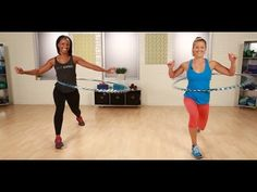 Hula Hoop Exercises From Hoopnotica | Burn Calories | Fitness How To - YouTube