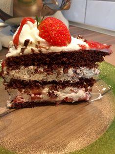 Tiramisu, Cake, Ethnic Recipes, Desserts, Food, Recipes, Koken, Strawberry Tarts, Cute Ideas