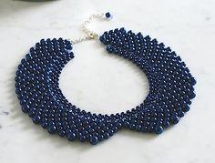 Copyright free jewellery tutorial beaded collar necklace