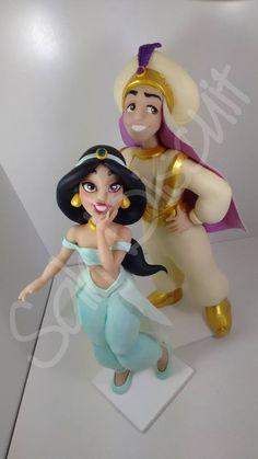 Porcelana Fría - Biscuit - Aladin - Disney